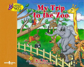 My trip to the zoo book cover