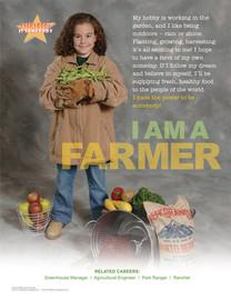 Primary, Elementary Farmer, Career poster