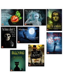 Bullying is Scary Halloween Series of 8