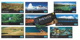 World Biomes Series of 10