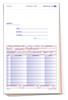 4-Part Special Parts Order Form PLAIN  #SPO-115-4N