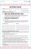 2-Part Buyers Guide IMPRINTED- Implied Warranty (Form- #BG-Implied Warranty)