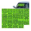Vinyl Highlights Windshield Slogans -VT-#323