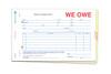 We Owe Form #SA-1506-3 Custom Imprinted