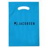 Blue White Reinforce Die Cut Bags