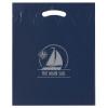 Navy Reinforced Die Cut Bags