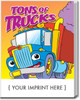 Tons Of Trucks Coloring Book (Book Only)