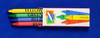 Buckle Up For Safety Coloring Book With Blank Crayon Box (Fun Pack) (CBS- #0225-FunPack)