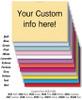 Custom Printed Deal Jackets Form #DSA-500