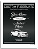 Prime Paper Custom Printed Floor Mats One Color