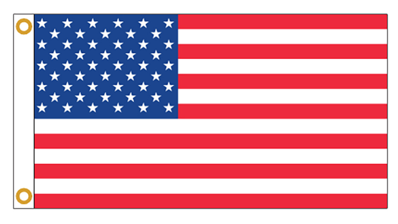 Economy U.S. Flags/Made in USA!
