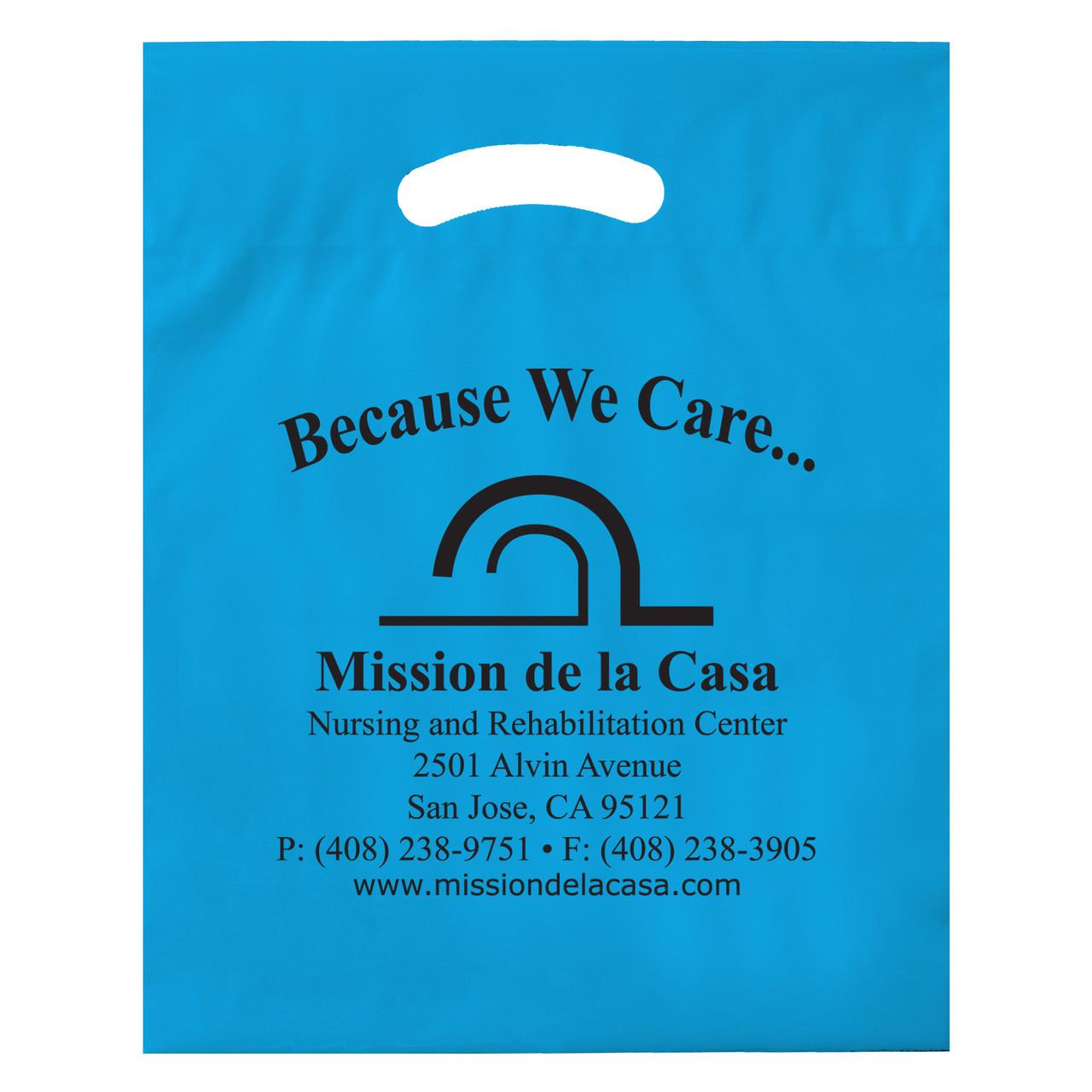 Custom Patch Handle Bag 15' x 19' 3'
