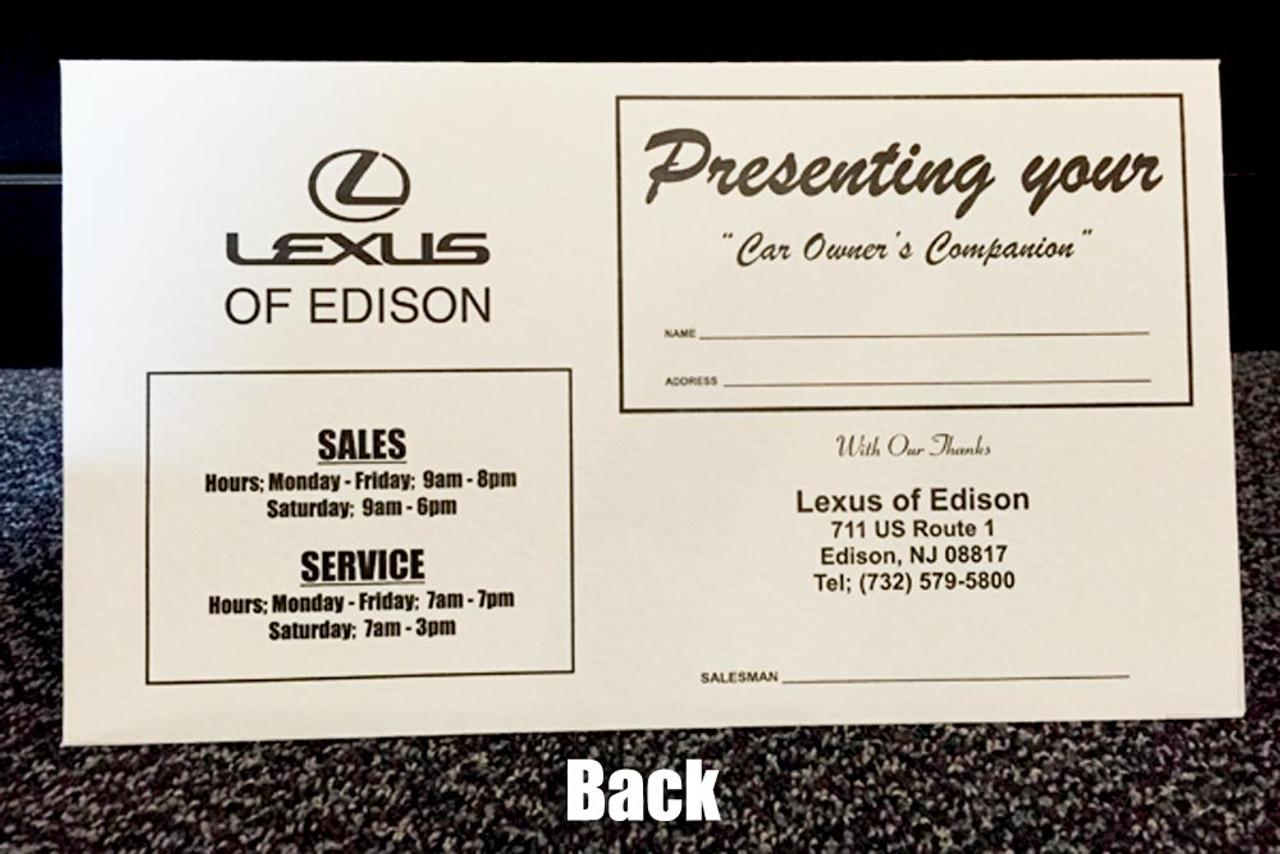 Custom Imprint - Paper Document Holder  (One Color)