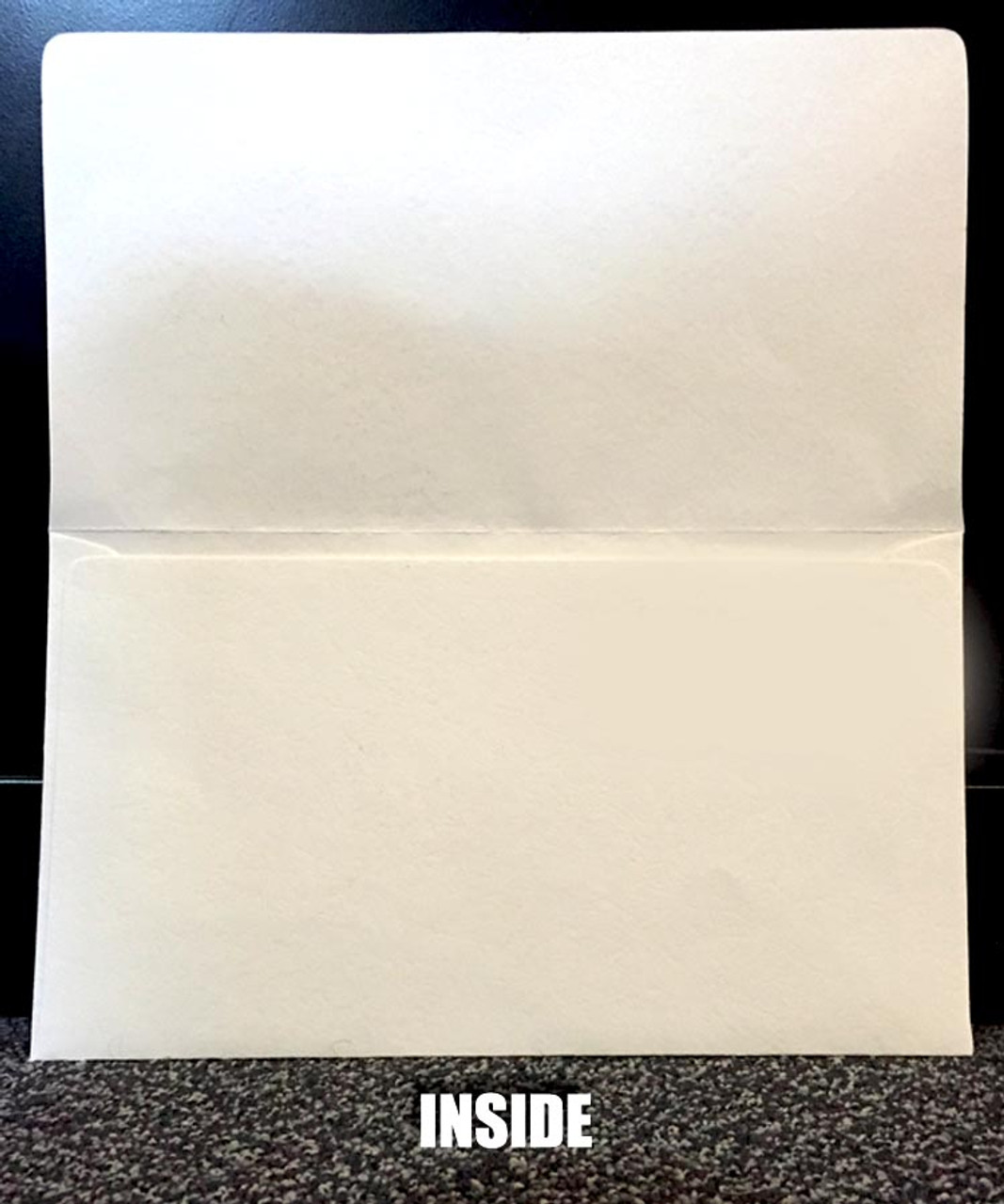 Custom Imprint - Paper Document Holder Two Color
