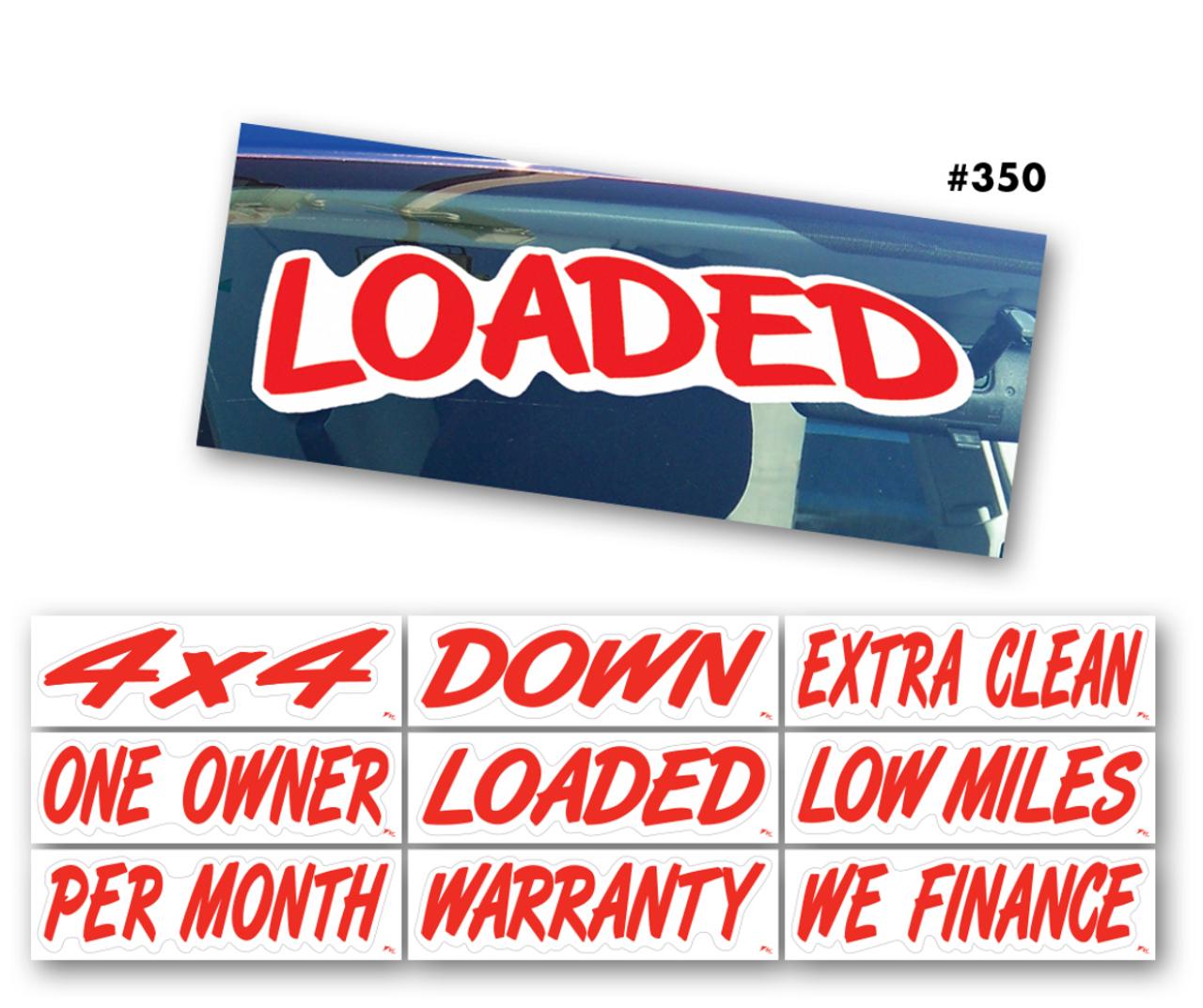 A-PEEL Auto Sign Slogans