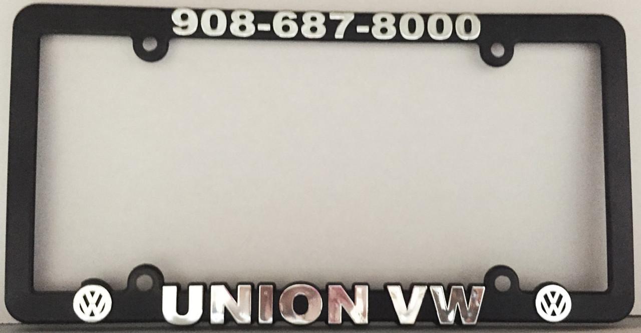 Raised Letter License Plate Frames (#4875)