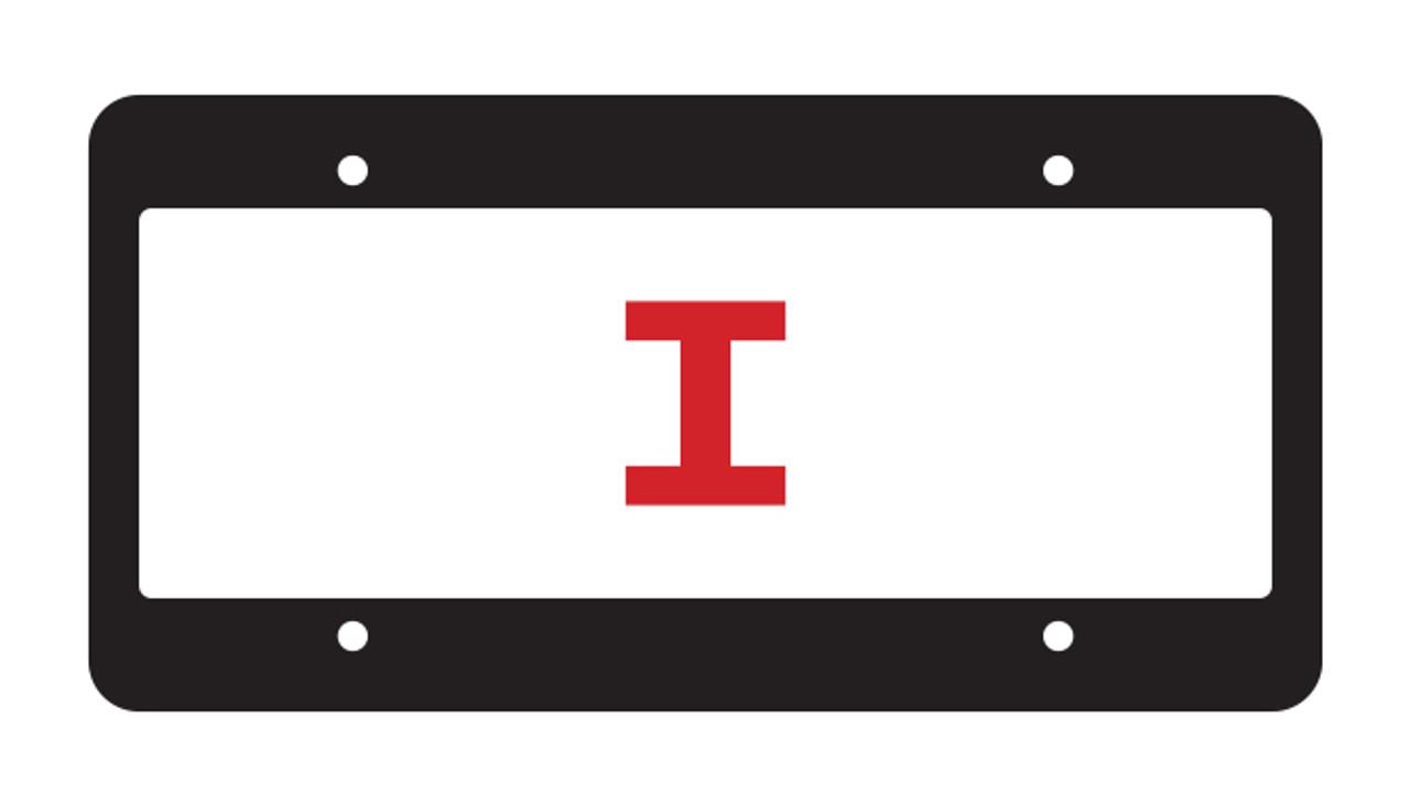 Chrome Faced License Plate Frames (#48761-48762)