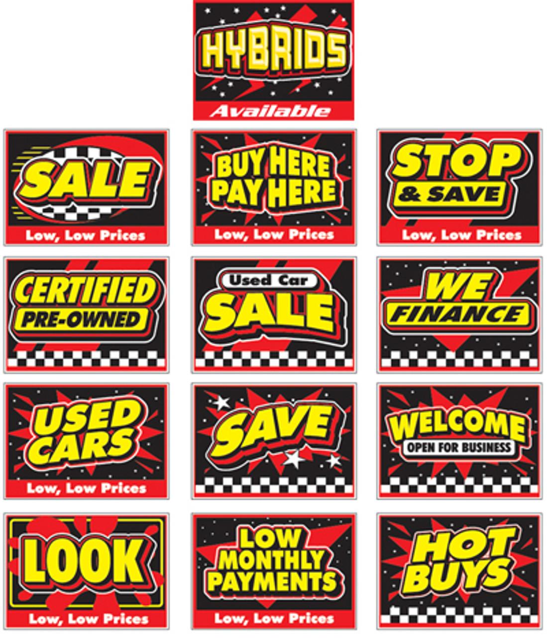Curb Signs