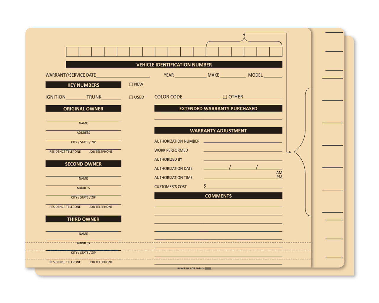 File Right File Folders (#302-100)