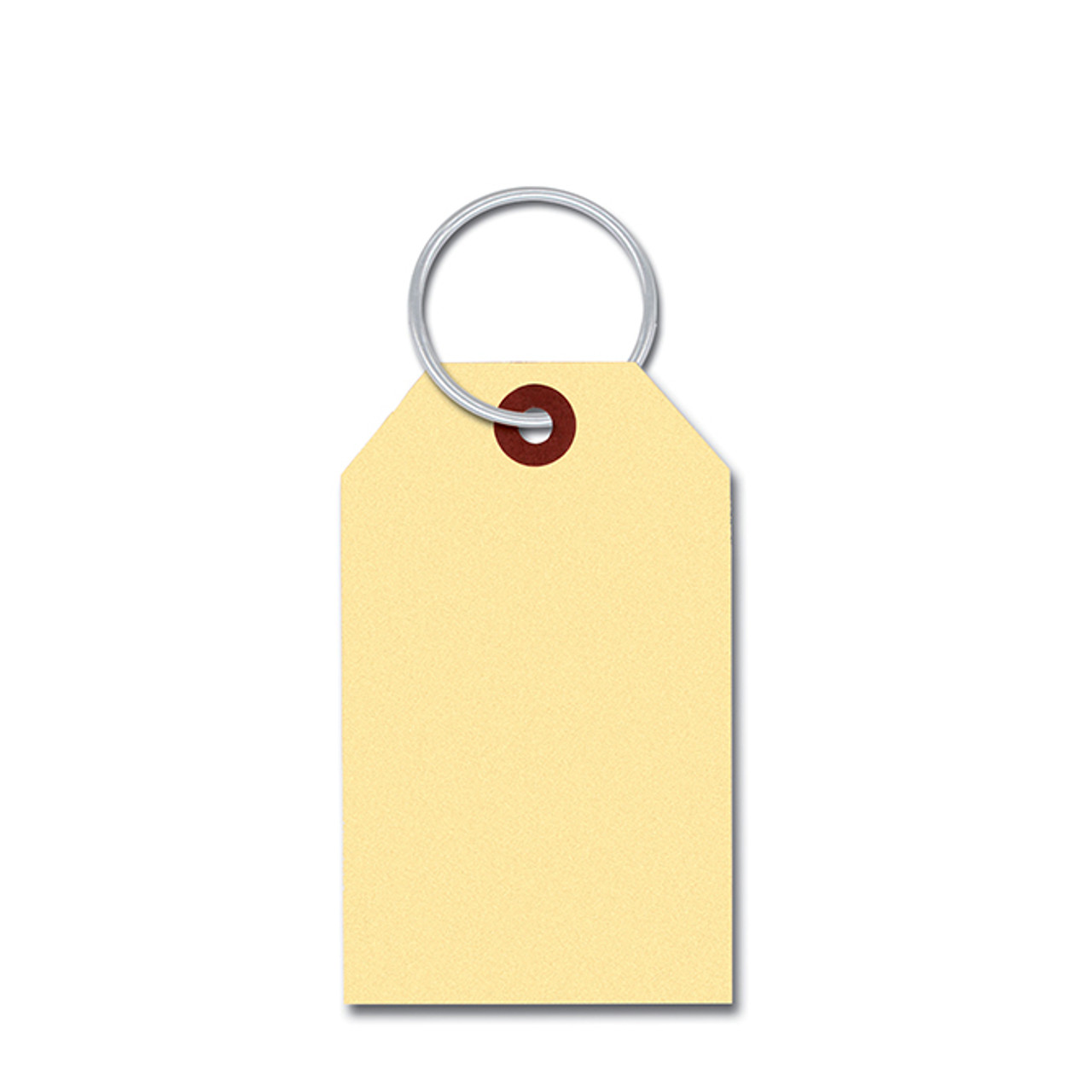 Manila Key Tag with Inserted Ring (Form-#152)