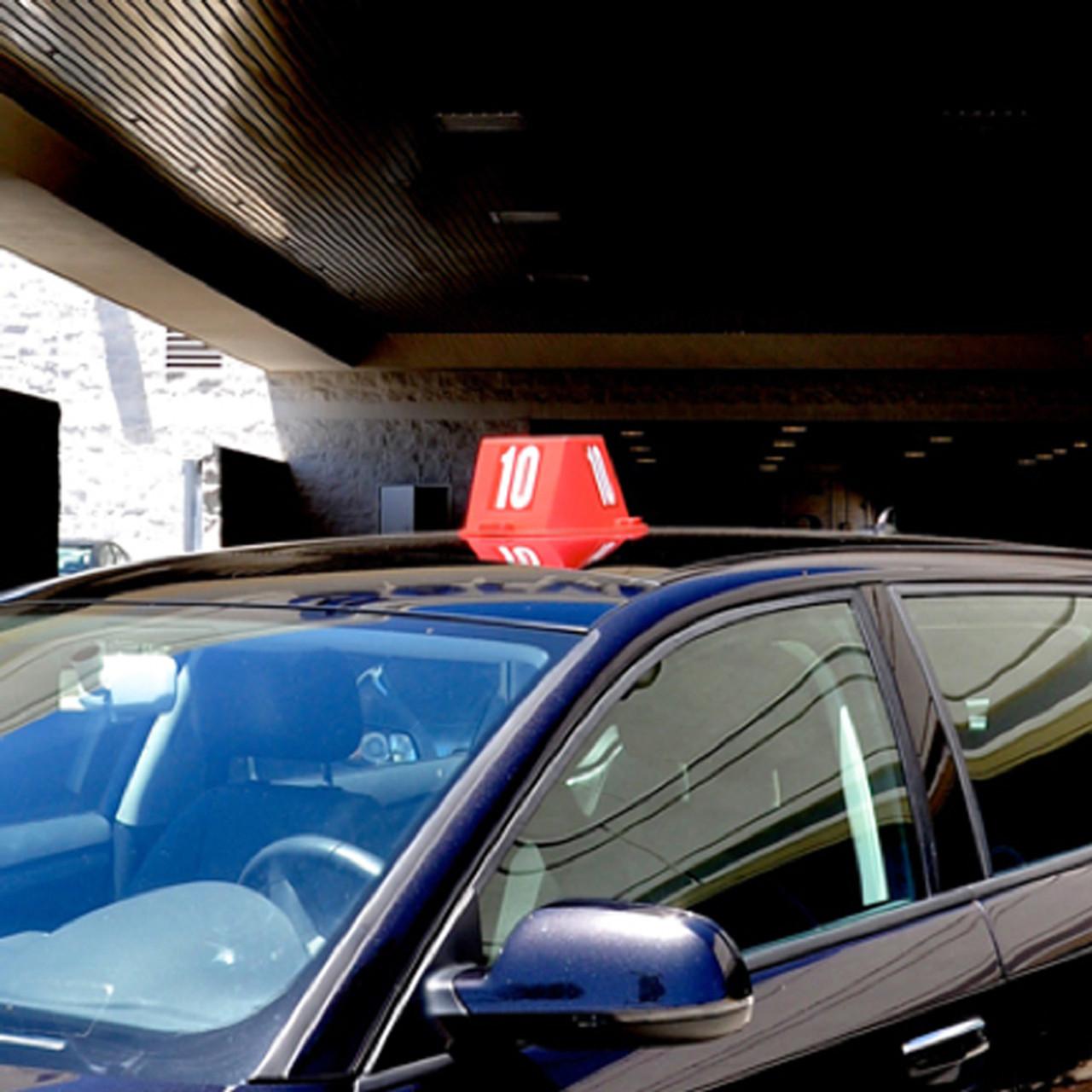 Magnetic Car Top Hats