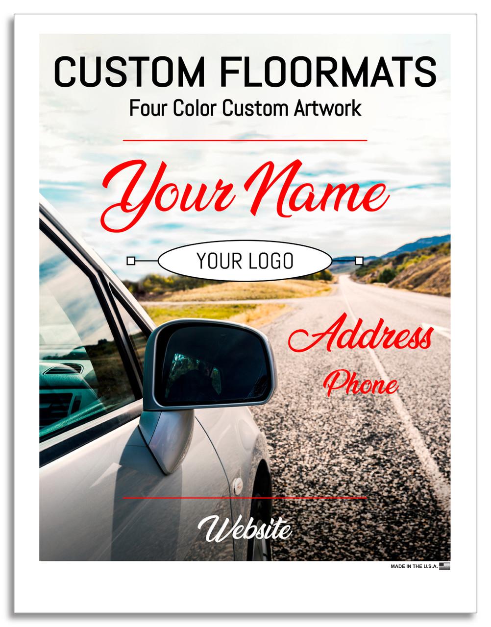 Prime Paper Custom Printed Floor Mats 4 Color