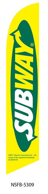 Subway Swooper Flag