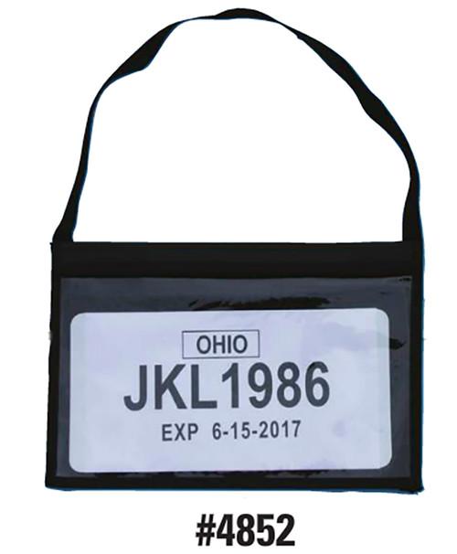 Tag Bag Plate Holder - #4852