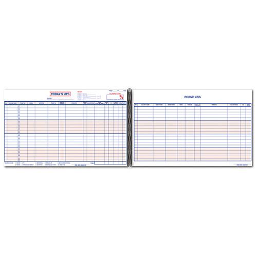 UPS Log Book/Customer Contact Log