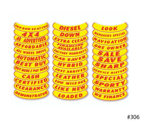 Vinyl Highlights Smile Slogans