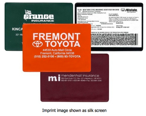 Insurance Card Holders #807