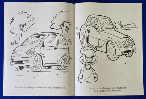 Our New Car Coloring Book (Book Only)