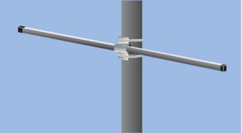 "7ft. 5"" Double Pole Bracket"