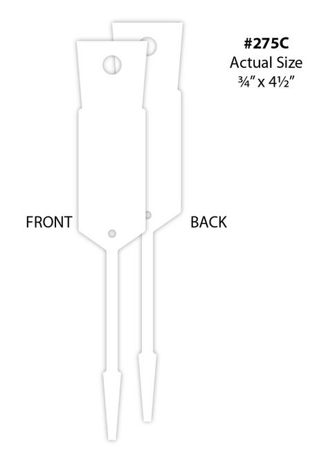 Arrow ID Tags- Blank (VT-#275)