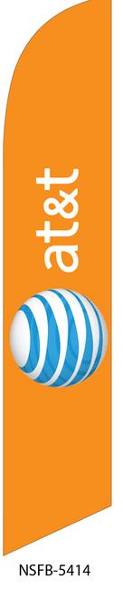 AT&T Swooper Flag  (NSFB-5413-5414-5415)