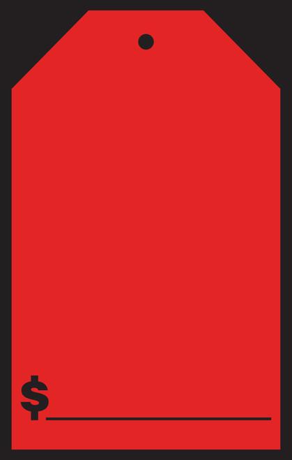 "Blank Windshield Tags (#589-51/53) 7"" x 11"""