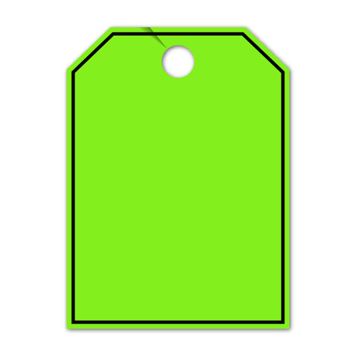 Border Mirror Hang Tag  8.5 X 11.5 (VT-#280- BO)