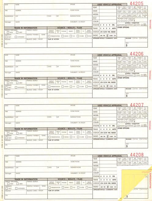 Guest Register Book Form #GR-1000)