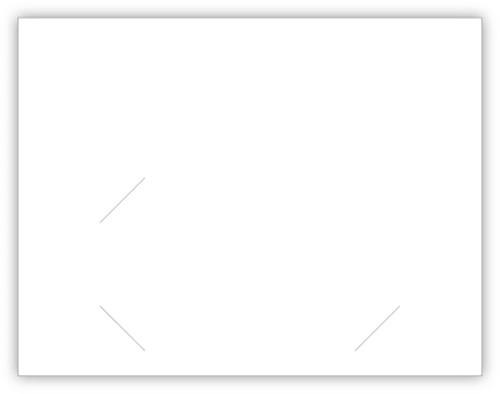 Thank You Card (With Envelopes) (CB-ThankYou-Blue)
