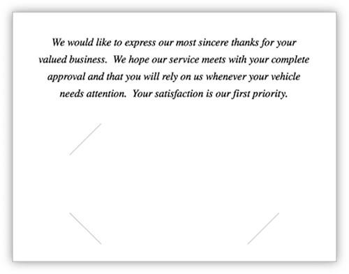 Thank You Card (With Envelopes) (CB-ThankYou-Speedometer)