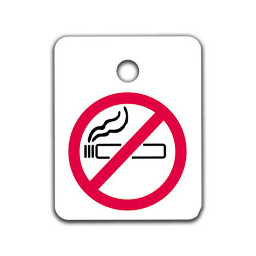 No Smoking Key Tags (250 Packs)