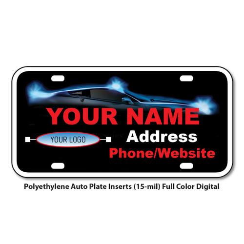 Polyethylene Auto Plate Inserts (15-mil) Full Color Digital