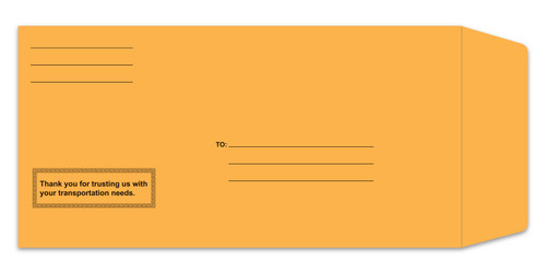 Preprinted License Plate Envelopes Form #LPEV-1