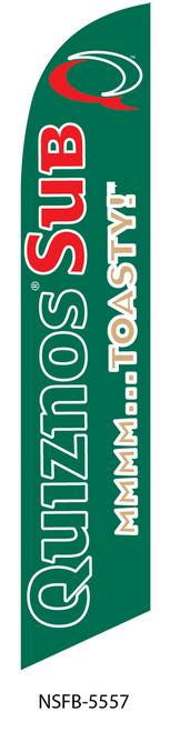 Quiznos Swooper Flag