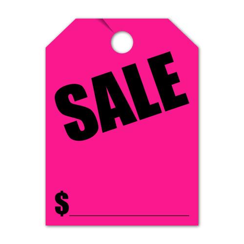 Sale Mirror Hang Tag 8.5 X 11.5