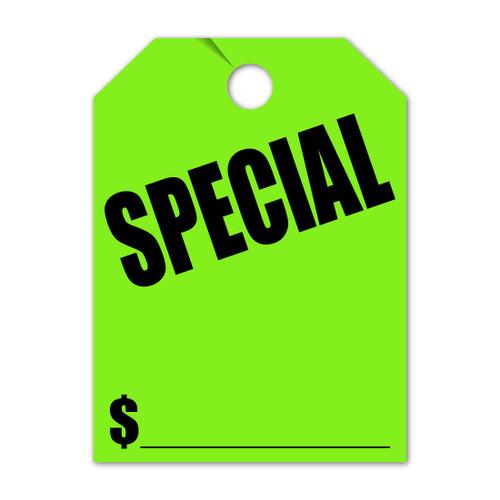 Special Mirror Hang Tag 8.5 X 11.5