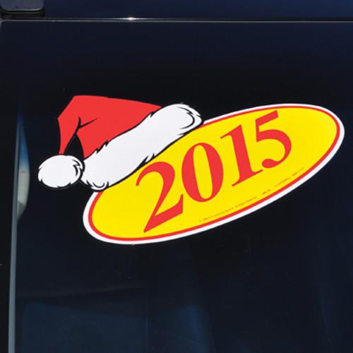 Santa Hat Holiday Decal