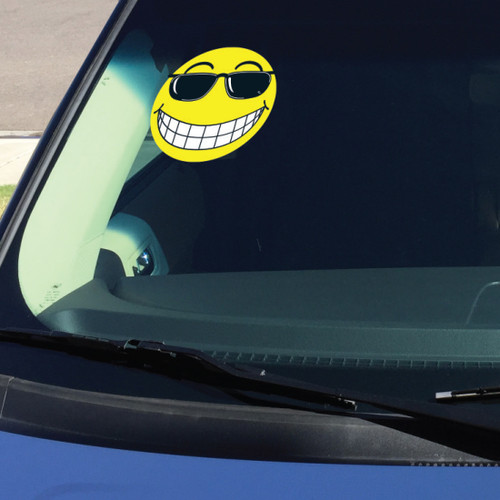 Smiley Face with Sunglasses Sticker