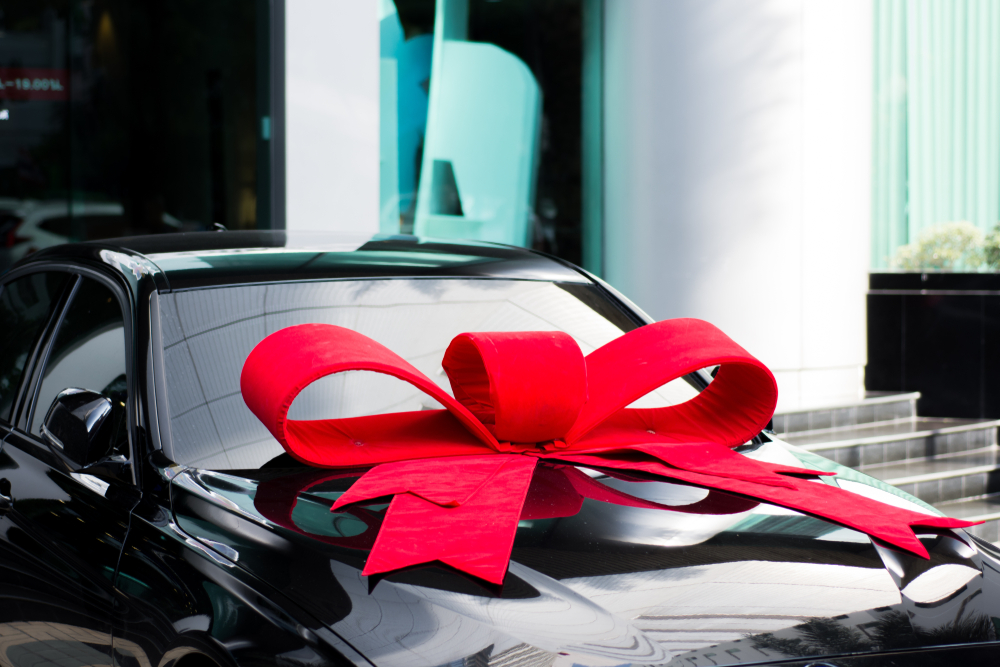 Every Gift Deserves a Bow — Even Your Car!