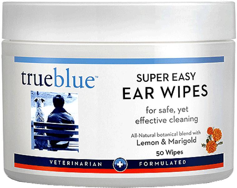 TRUE BLUE EASY EAR WIPES 50 PADS